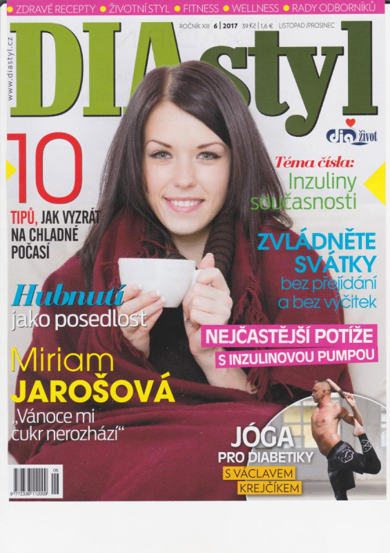 Diastyl - jóga a diabetes (listopad 2017)