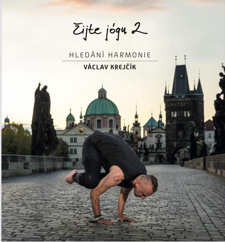 Nová kniha ŽIJTE JÓGU 2 - hledání harmonie