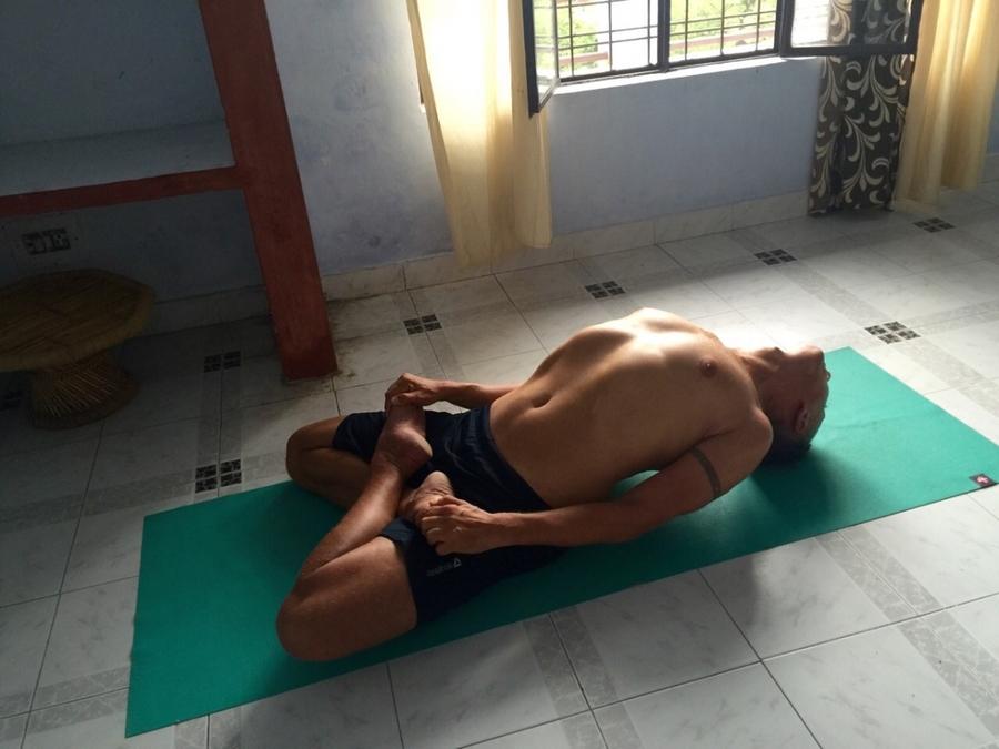 Indický jógový týpek