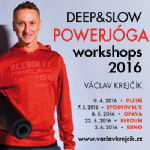Deep& Slow powerjóga startuje 9.4. v Plzni