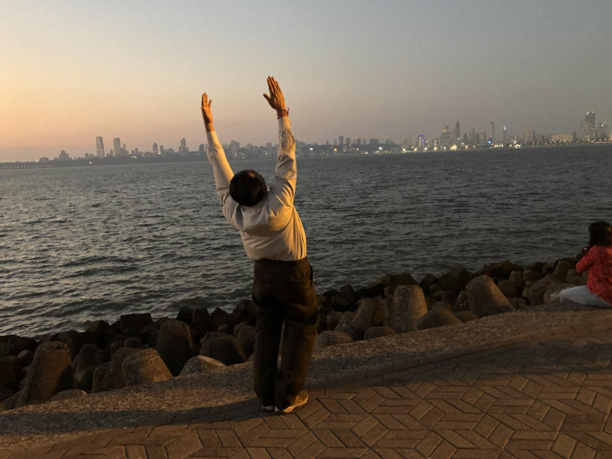 Dechberoucí Mumbai, aneb #neplivejnazem